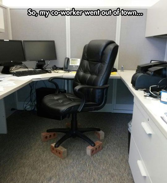 40 Best Images About Cubicle Pranks On Pinterest