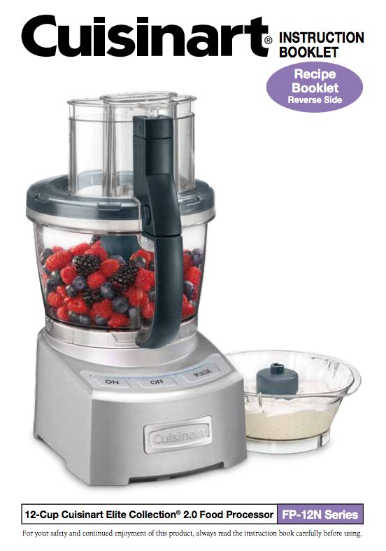 21 best food processor manuals images on pinterest food processor elite collection 20 12 cup food processor fp 12n product manual forumfinder Image collections