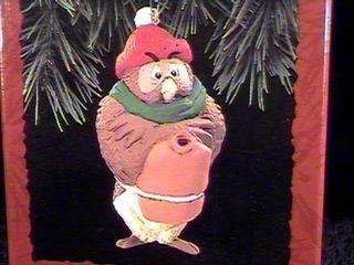 1 X QX5695 Owl Winnie the Pooh 1993 Hallmark Keepsake Ornament @ niftywarehouse.com #NiftyWarehouse #Disney #DisneyMovies #Animated #Film #DisneyFilms #DisneyCartoons #Kids #Cartoons