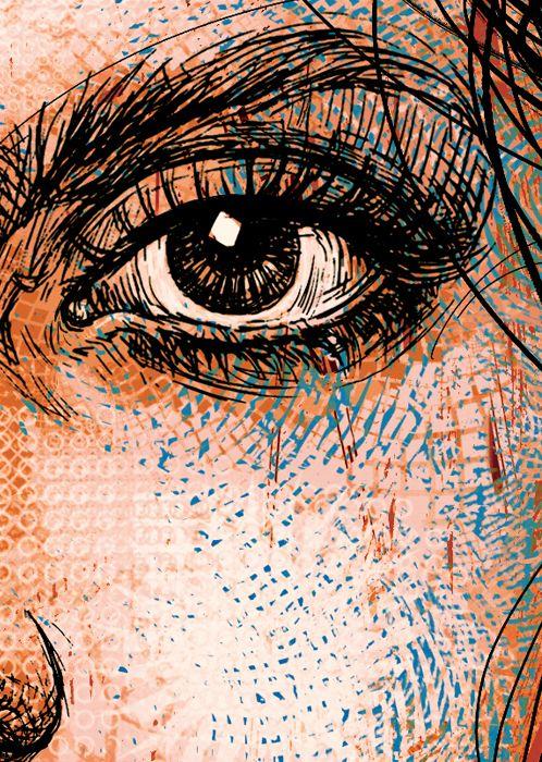 Ladislav Hubert: Artists, Art Geometrico Contemp, Drawings Eyes, Art Design Inspiration, Eyes Glasses, Drawings Sketch, Illustrations Ilustraciones, Drawings Doodles, 1 Art