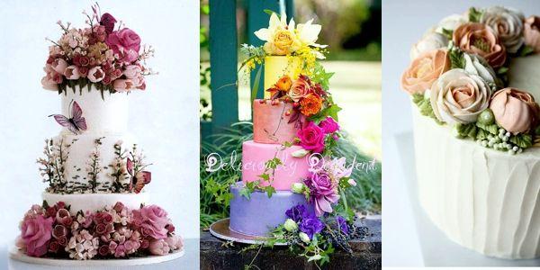 Αφιέρωμα: λουλουδένιες τούρτες!