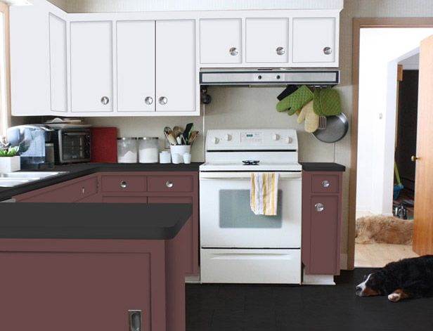 Find the perfect color for your kitchen cabinets!: Diy Kitchens, Furniture Diys, Kitchen Makeovers, Colorful Kitchen Cabinets, Colorful Kitchens, Kitchen Bath Living, Deign Diy, Diy Network