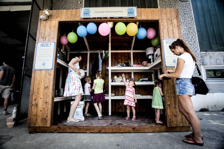 Hozol? Viszel? Megnyílt az első közösségi adományozó pont Budapesten | Életszépítők