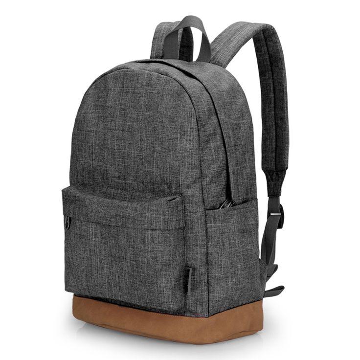 Homens mochila masculino lona mochila escolar estudante universitário tinyat mochilas laptop mochilas mulheres mochila casuais t101 cinza em Mochilas de Bagagem & Bags no AliExpress.com | Alibaba Group
