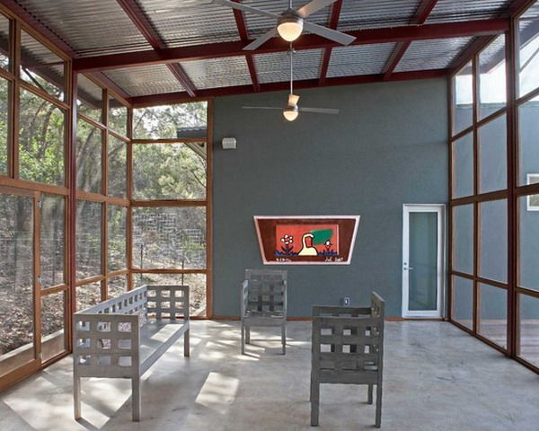 corrugated metal roofing the benefit using corrugated metal - Metal Roof Patio Cover Designs