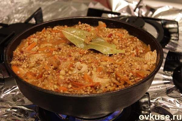 Рецепт такой гречки покорил весь мир! Вкуснотища необыкновенная