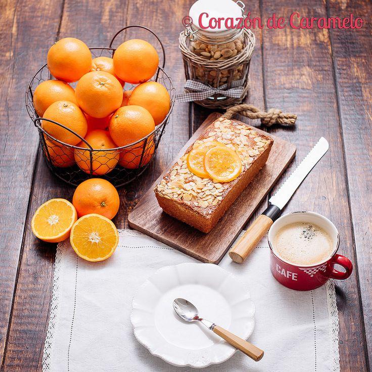 Bizcocho de Naranja y Almendras | Receta fácil