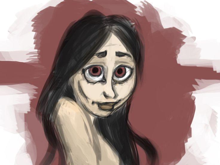 "My newest ""fast oc portrait"" digi paint :) www.harunis.weebly.com"