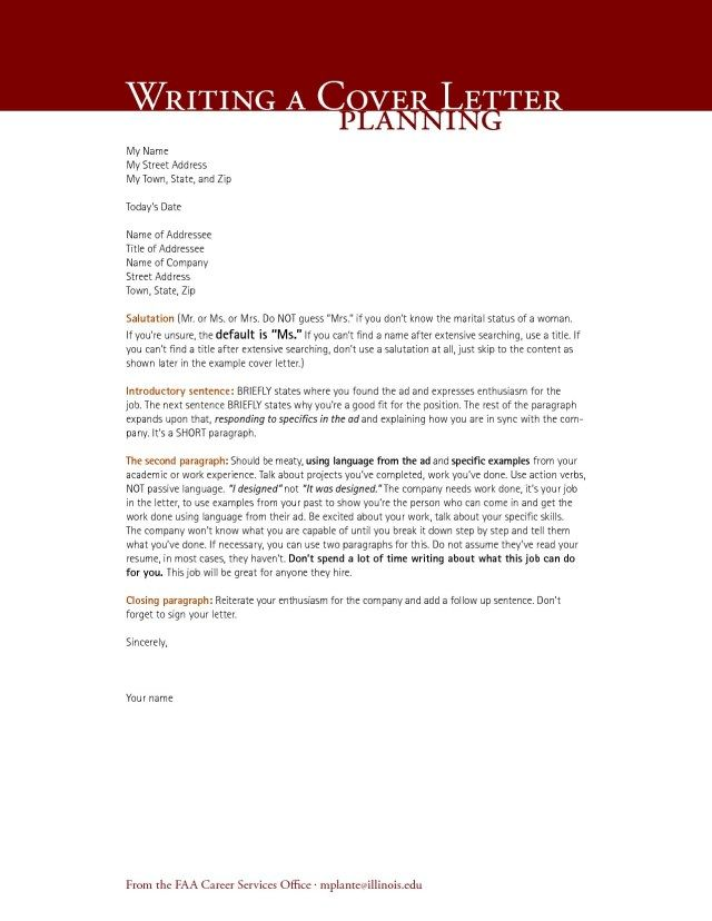 23+ Architecture Cover Letter Cover Letter Resume Cover letter