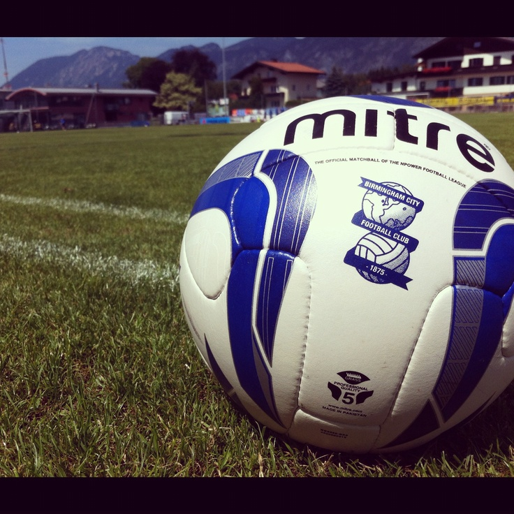 Birmingham City Football Club's pre-season training at Kirchbichl in Austria.