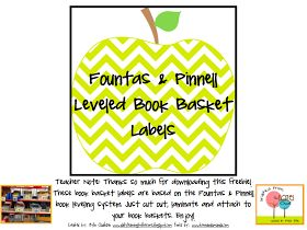 Leveled book labels and Scholastic Book Wizard (levels books for you by DRA, Guided Reading, etc...) I LOVE this!