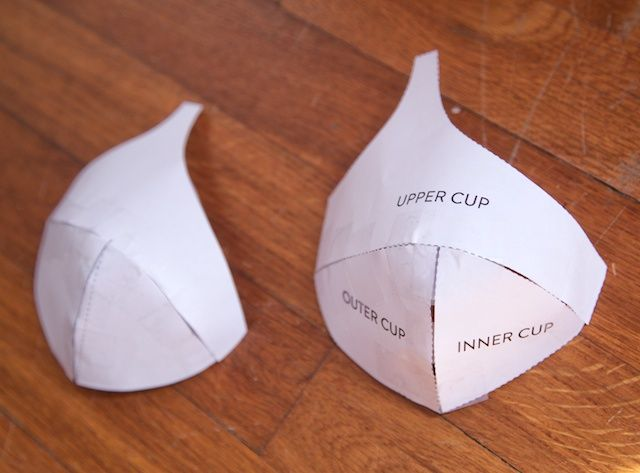 Making a Foam Cup Bra | Cloth Habit. Great tut
