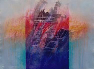 """Saatchi Art Artist Antoni Karwowski; Painting, """"Poem I  /on paper/"""" #art"""