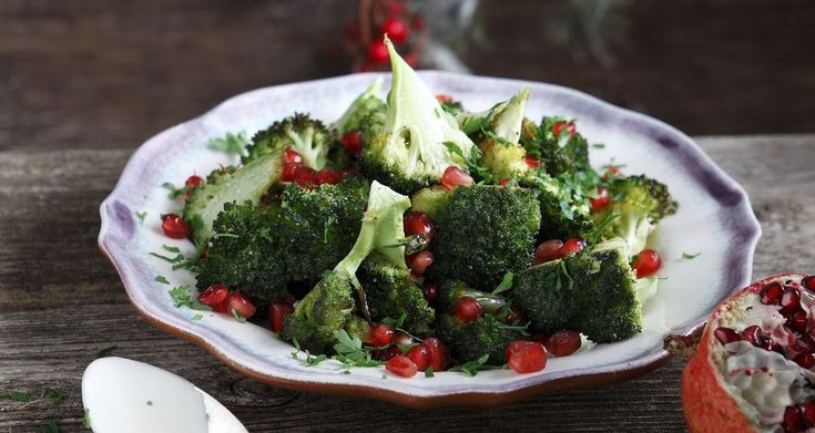 Roast Broccoli Salad