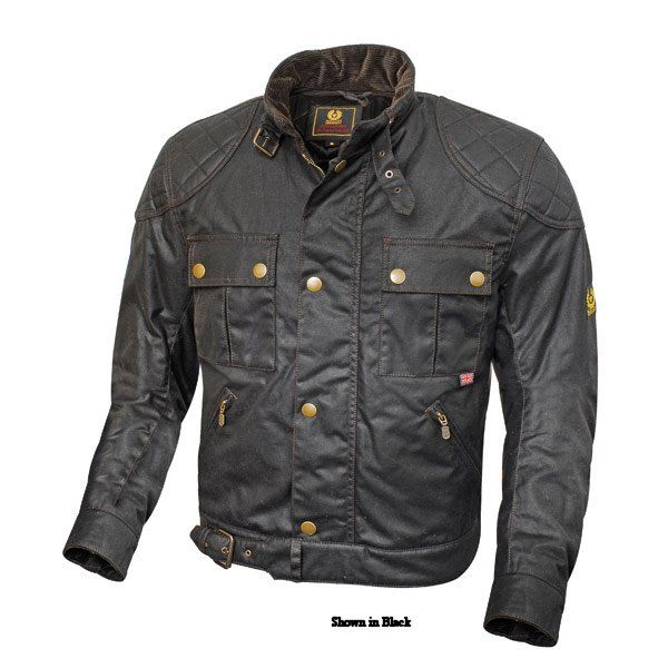 3 Belstaff Mojave Waxed Cotton Motorcycle Jacket Caferacer