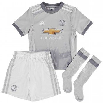 Manchester United kläder Barn 17-18 Tredje Tröja Kortärmad  #Billiga #fotbollströjor