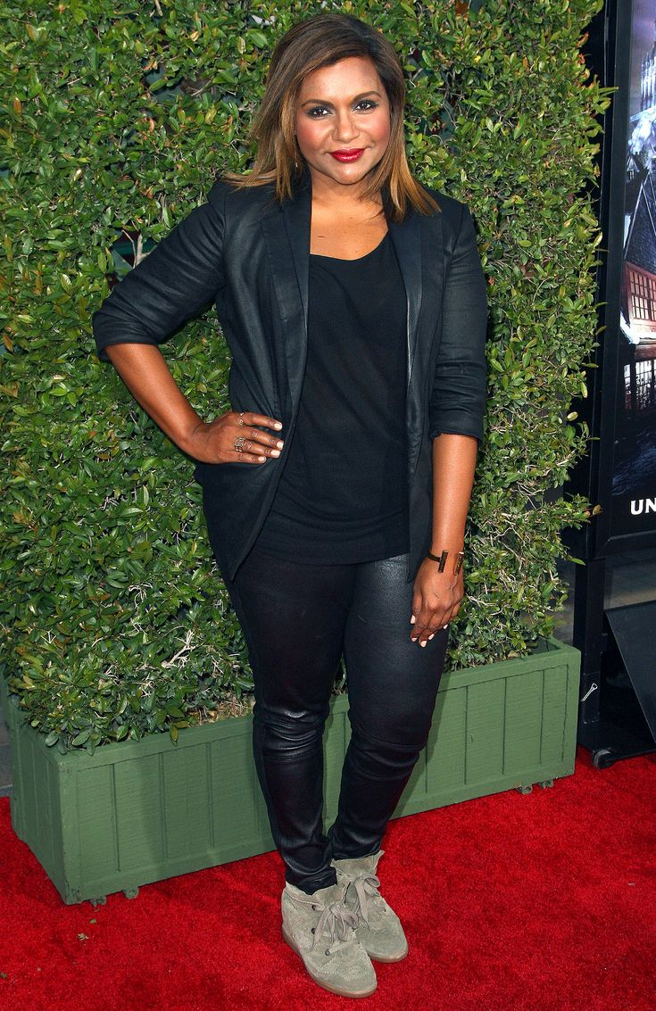 Mindy Kaling Casual Style