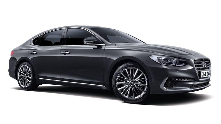 New Hyundai Azera looks a bit like a BMW - http://www.bmwblog.com/2016/10/27/new-hyundai-azera-looks-bit-like-bmw/