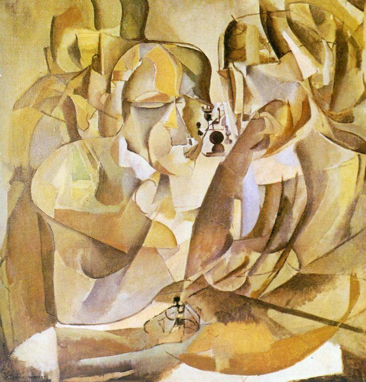 Amadeo de Souza-Cardoso — artist-duchamp:   Portrait of Chess Players by...
