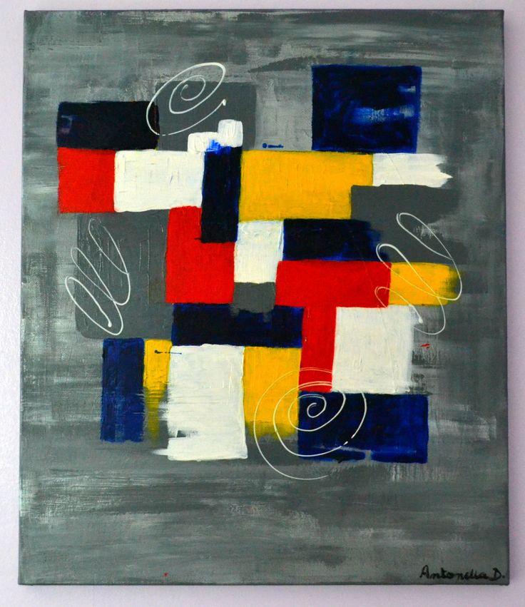 Les 81 Meilleures Images Du Tableau Tableaux Modernes Abstraits