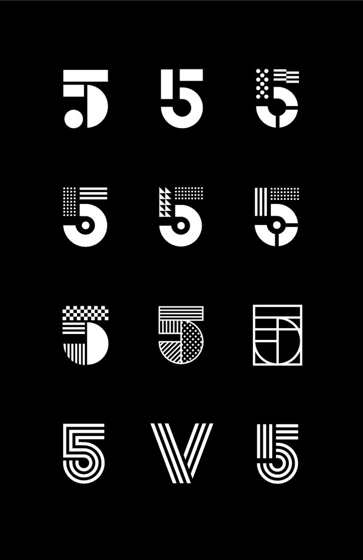 459 best Numbers images on Pinterest | Posters, Type ...