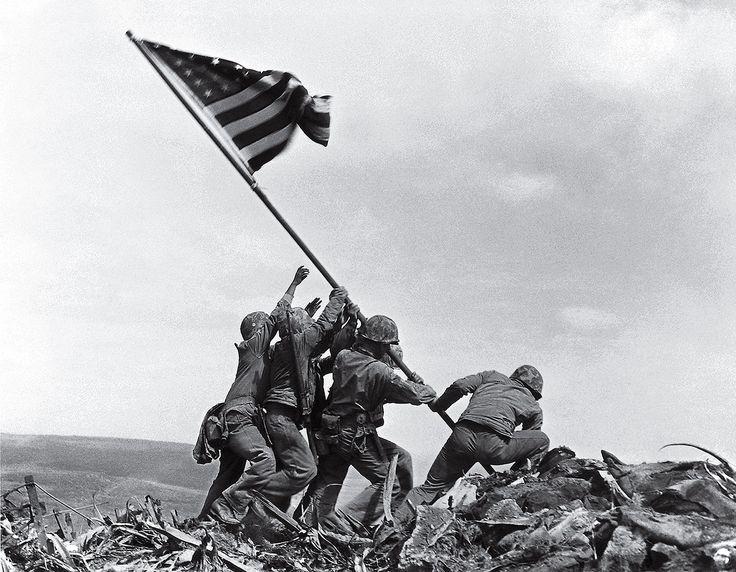 Flag Raising on Iwo Jima by Joe Rosenthal