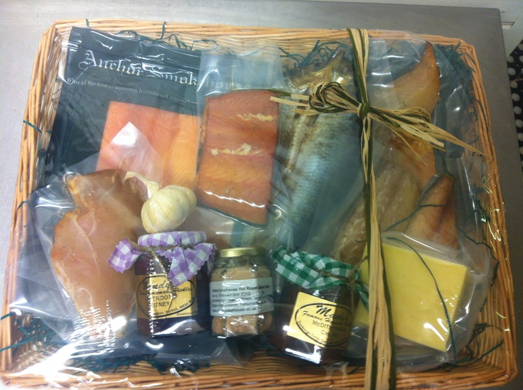 Local Smoked Food Hamper Buy online at www.anchorsmokehouse.co.uk