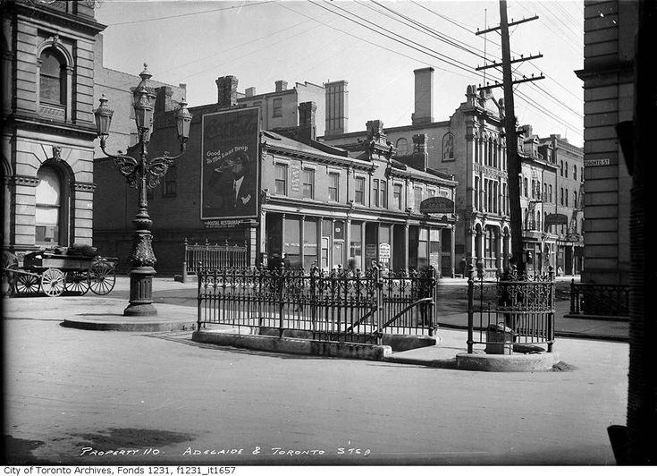 Adelaide and Toronto Street 1912