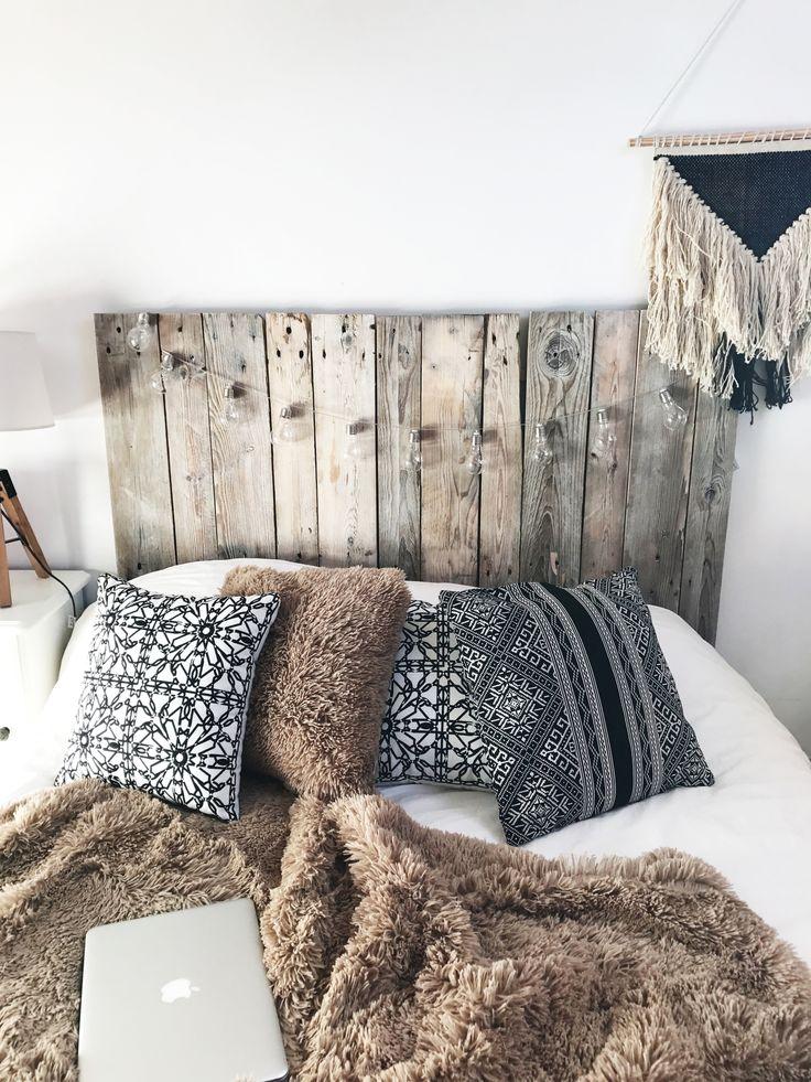 1000 id es sur le th me lit en bois de palettes sur. Black Bedroom Furniture Sets. Home Design Ideas