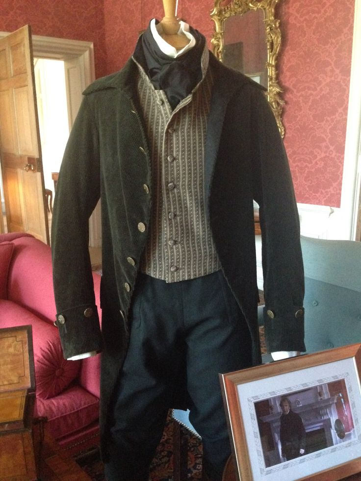 National Trust Property - Mompesson House.  Alan Rickman's costume from Sense and Sensibility.