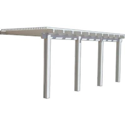 Awesome Aluminum Attached Open Lattice Patio Cover 1262006701018