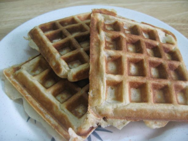Gluten-Free Waffles Recipe - Food.com - Note to everyone who makes these, I subbed milk with Almond breeze and butter, with I cannot believe it's not butter and Used Bob's red mill gluten free baking flour.