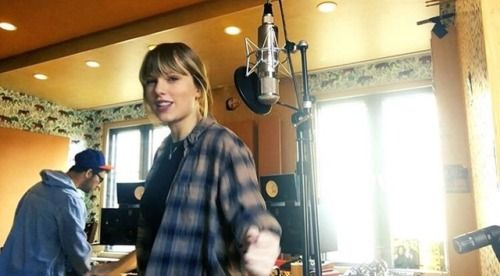 taylor swift || writing of the songs for reputation || 2017