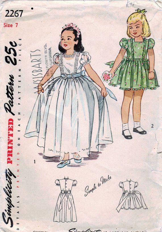 Girls Party Dress Or Flower Girl