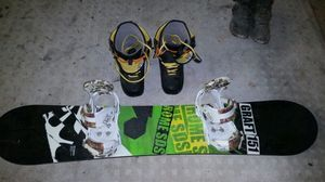 Burton Graft151 Snowboard, Burton Mission bindings, Burton boxer boots size 10