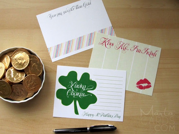 st. patrick's day downloads / martawrites.com