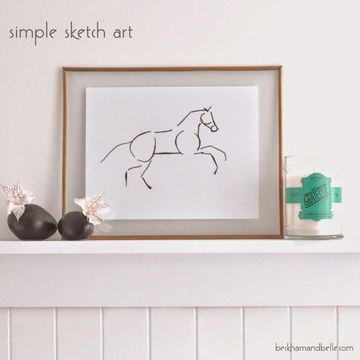 Simple Sketch Art