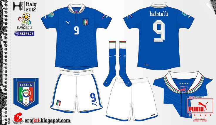 Italy | home jersey | 2012