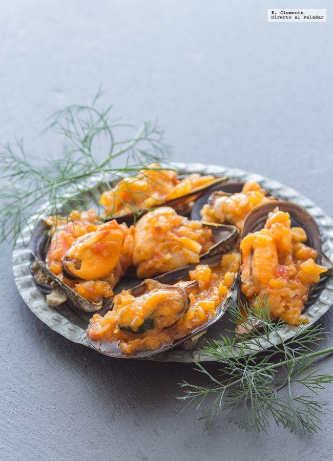 Cómo hacer mejillones en salsa de vieira. Receta