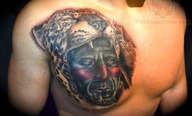 Jaguar warrior tattoo tatuaje maya pinterest azteca for Jaguar warrior tattoo
