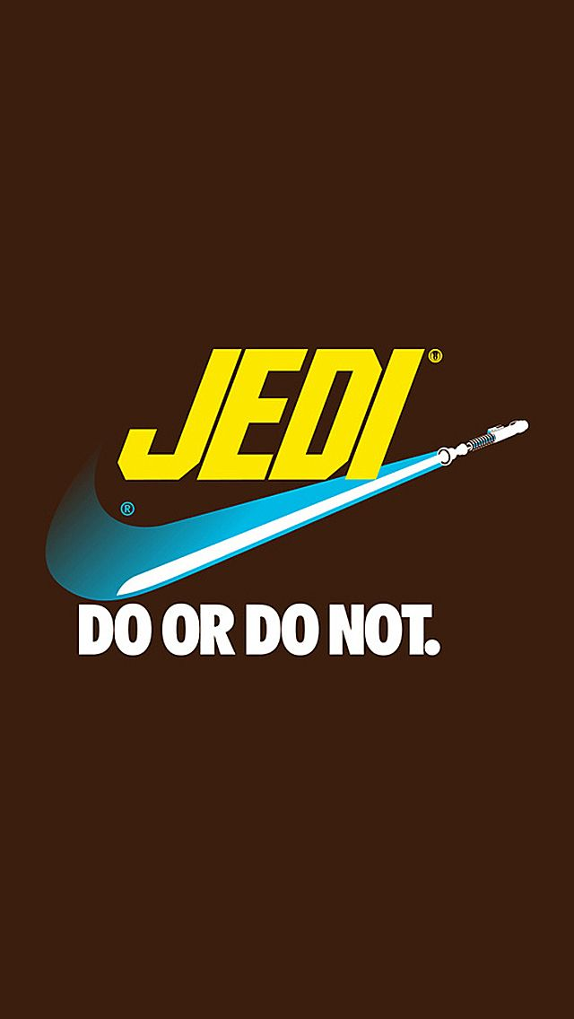 Star Wars Do Or Not IPhone 5 Wallpaper