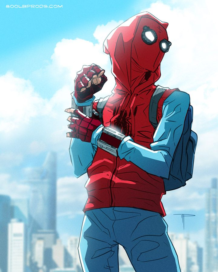 Spidey's Homemade Suit - Michael Pasquale