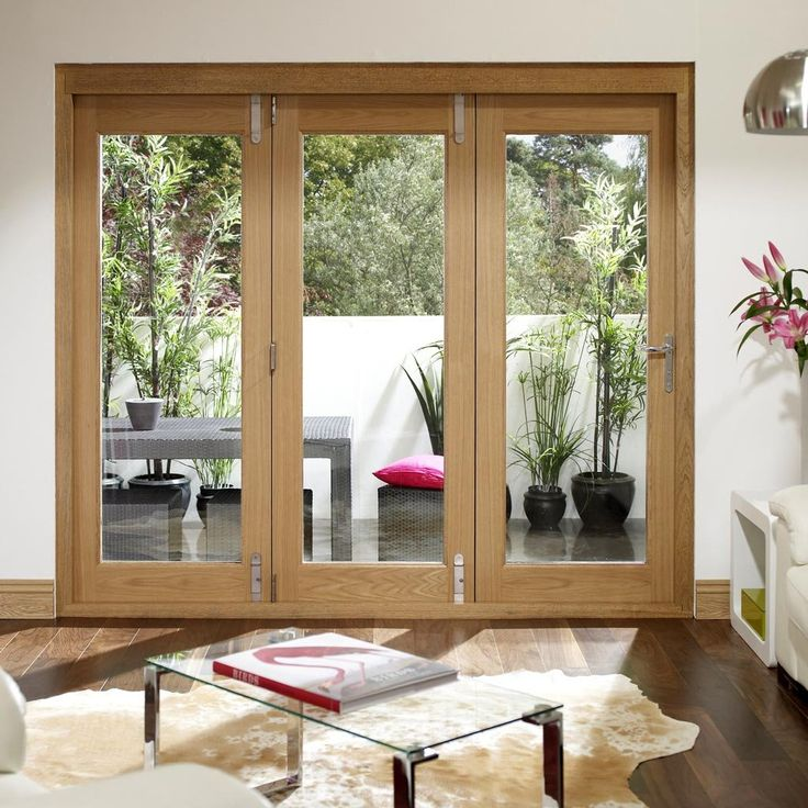 Best 25 folding patio doors ideas on pinterest for Small exterior french doors