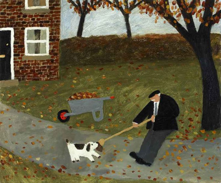 GARY BUNT  - The Broom - I was feeling a little bored today So I thought just for a laugh I'd go and grab the old boy's broom While he tried to sweep the path Leave!! He said bad dog!!! He said Go and sit by the door I didn't take any notice of him And tugged it even more
