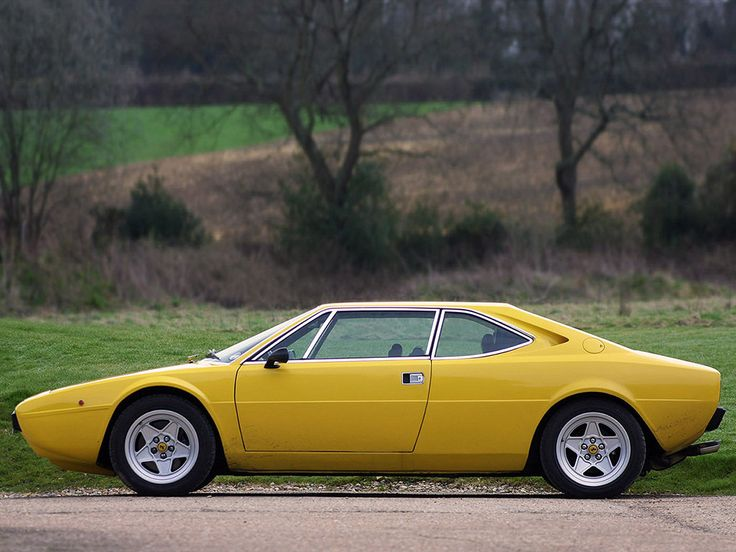 Ferrari Dino 308 GT4 1974 - love the fact that it's hard to tell which end's the front!