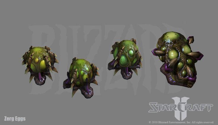 Starcraft 2: Zerg Egg s by PhillGonzo on DeviantArt