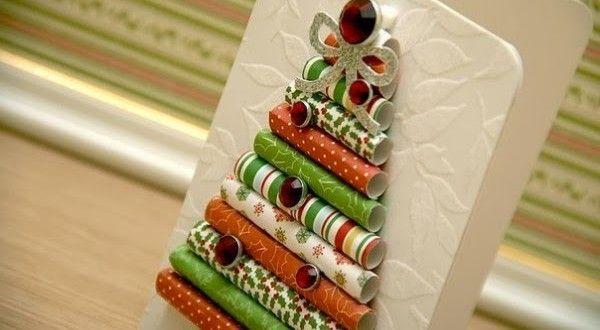 Cartão de Natal personalizado passo a passo  Tuto carte de Noël originale