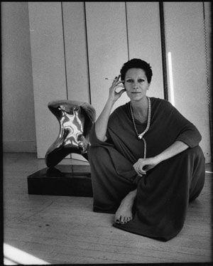 Elsa Peretti at home in New York