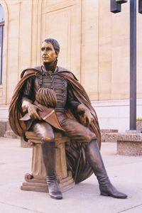 William Henry Harrison - Ninth President of the United States (1841)  Corner of Mount Rushmore Rd. & Saint Joseph St.