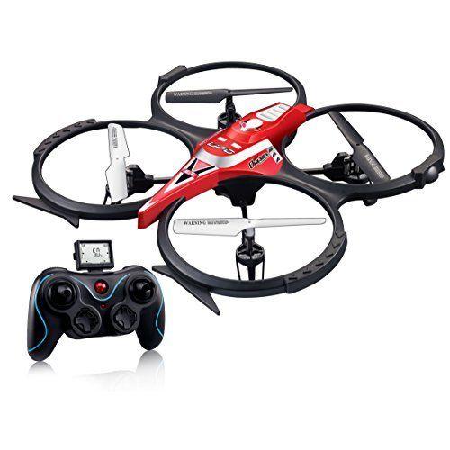 Eachine H8 Mini Quadcopter Headless Mode 2.4G 4CH 6 Axis RC Nano Quadcopter Drone RTF Mode 2 (Black)